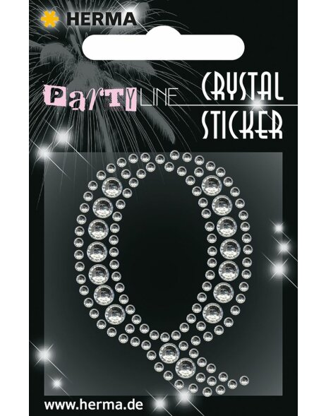 Herma FASHIONLine Crystal Sticker Q;Herma Crystal Sticker