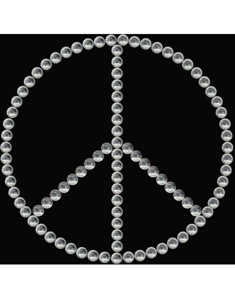 Herma FASHIONLine Crystal Sticker Peace