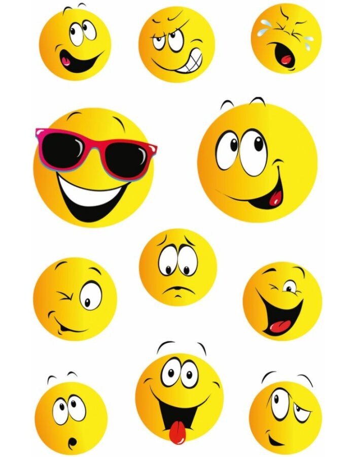 Herma DECOR Sticker Happy Face