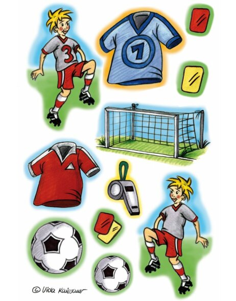 Herma DECOR Sticker Fussballspiel