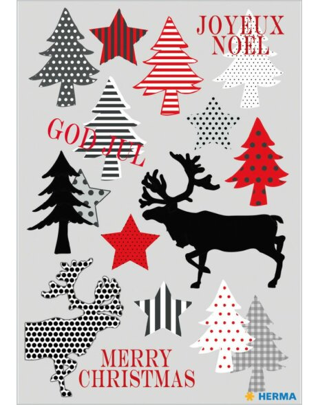 Herma DECOR Sticker Merry Christmas
