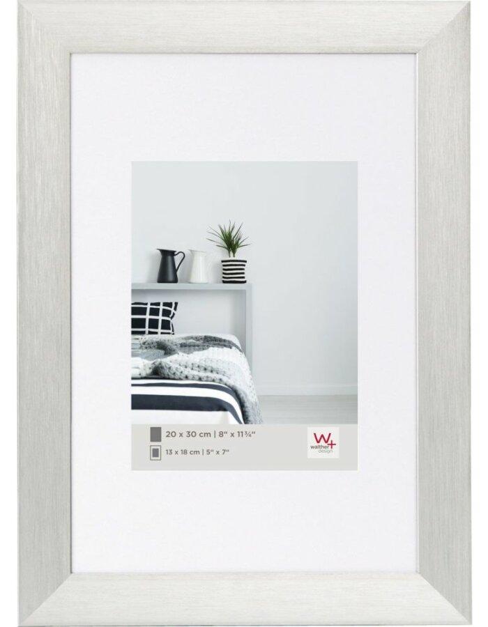 Aluminiumrahmen ALULINE - 40x50 cm - silber | fotoalben-discount.de