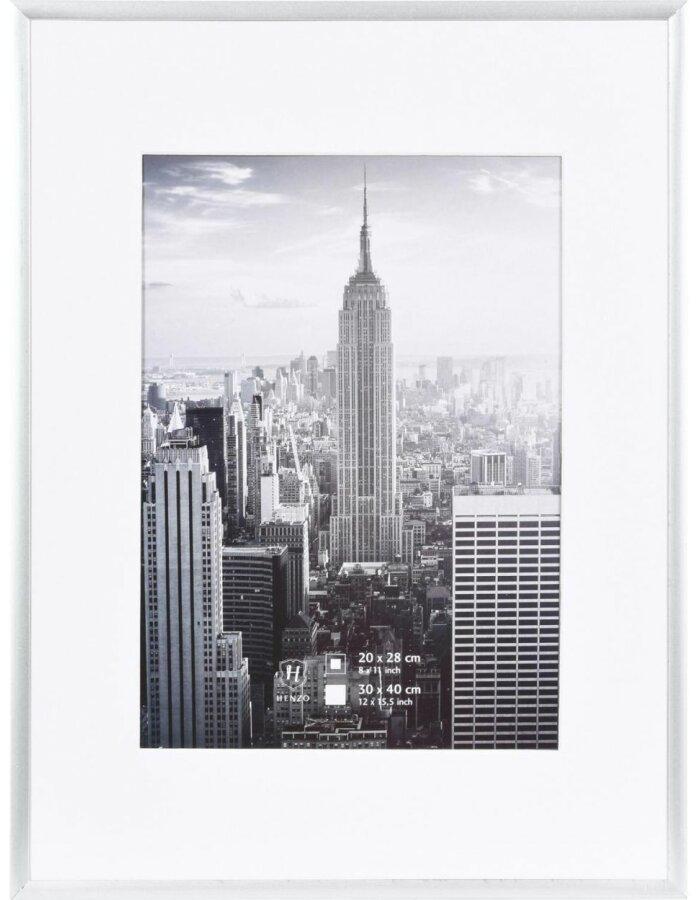 Manhattan Rahmen Alu 30x40 silber   fotoalben-discount.de