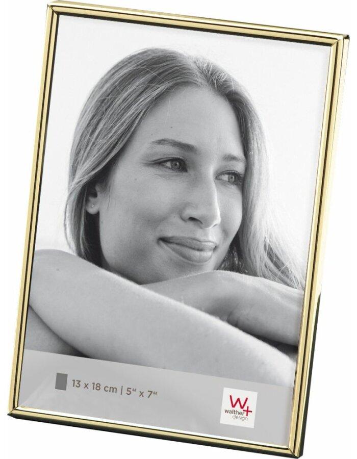 Walther Chloe Rahmen 13x18 gold   fotoalben-discount.de