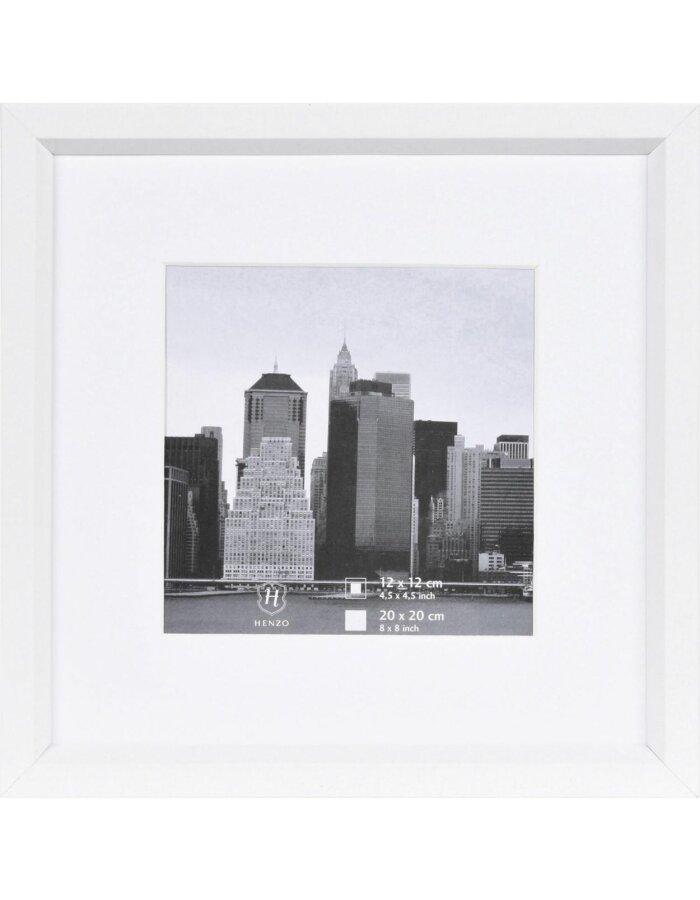 Henzo Rahmen Kunststoff 20x20 cm METALLICA - weiß | fotoalben ...