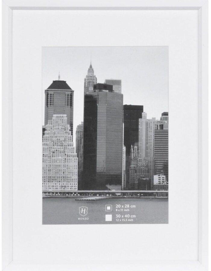 Henzo Bilderrahmen METALLICA Kunststoff 30x40 cm - weiß | fotoalben ...