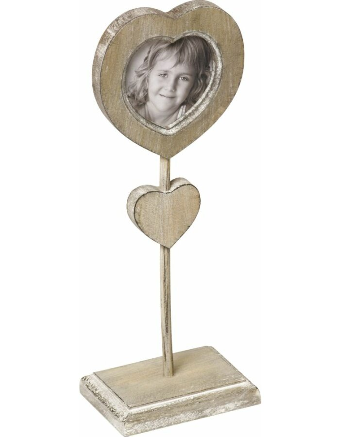 Walther Le Coeur 7,5x7,5 cm Rahmen Herz mit Fuß | fotoalben-discount.de