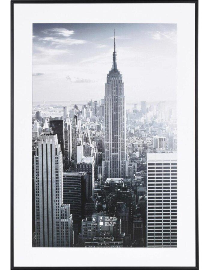 Aluminium Bilderrahmen Manhattan 50x70 Schwarz Fotoalben Discount De