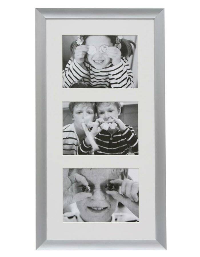 Galerie-Bilderrahmen mit 3 Ausschnitten für 13x18 cm | fotoalben ...