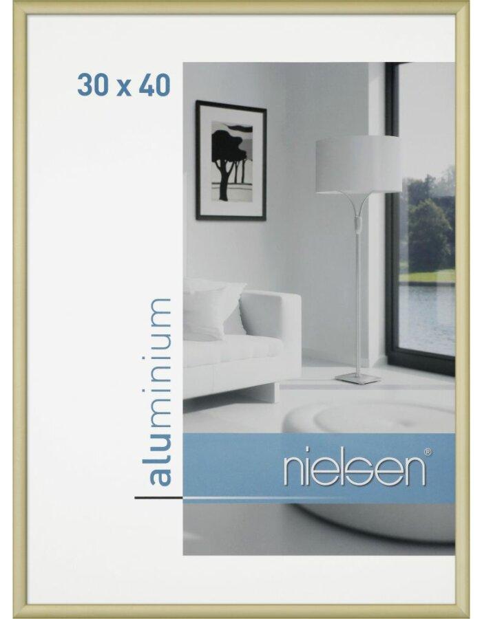 Alurahmen Classic SRC 50x60 cm gold matt | fotoalben-discount.de
