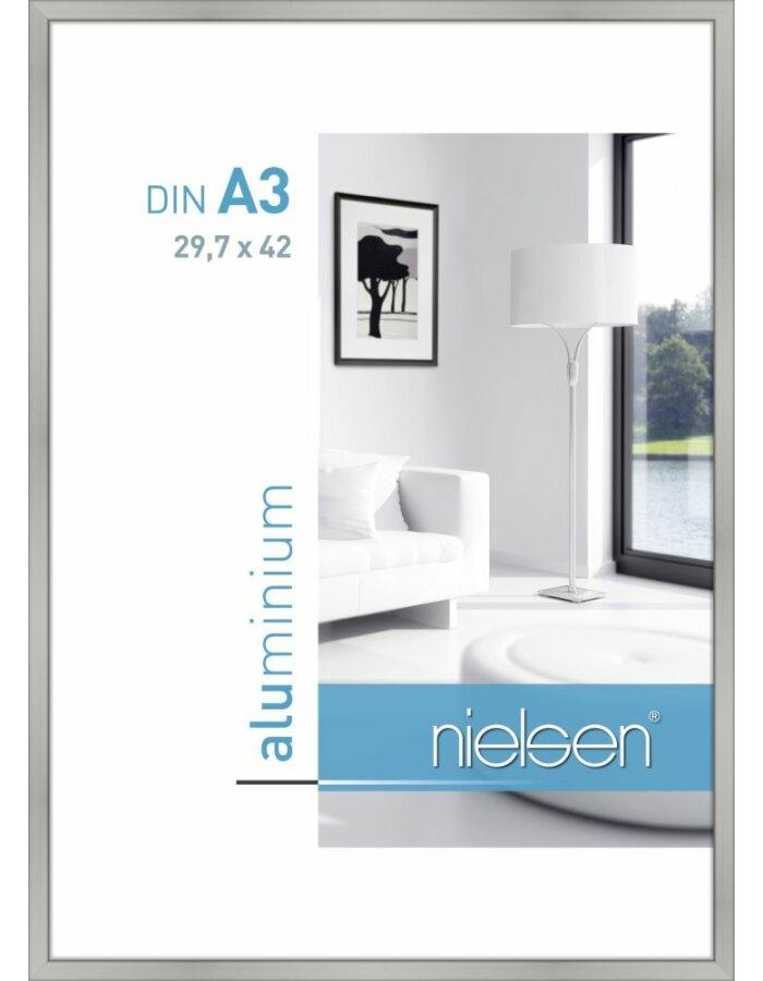 Alurahmen Classic 29,7x42 cm silber matt | fotoalben-discount.de