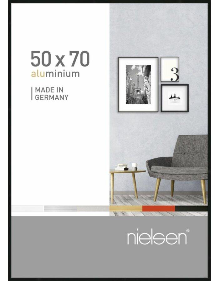 Alurahmen Pixel 50x70 cm schwarz | fotoalben-discount.de