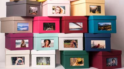 Photo Box for fast photo collecting